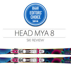 2014 Women's Frontside Ski Editors' Choice: HEAD MYA 8