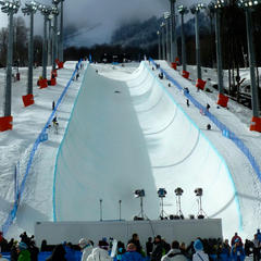 Rosa Khutor Olympic halfpipe - © Brian Pinelli