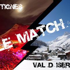 Le match Tignes / Val d'Isère - ©Andy Parant / JP Noisillier