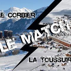 Les Sybelles : le Corbier vs la Toussuire
