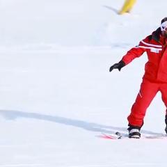 Corso di Snowboard - Lezione #7 - Curva elementare in Front e in Back