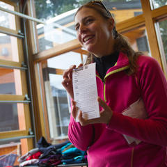Our Ski Test Director and fearless leader, Krista Crabtree - ©Cody Downard Photography