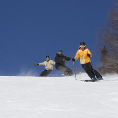 How to Ski Cheap, or Free, This Spring in the Northeast - ©Okemo Mountain Resort