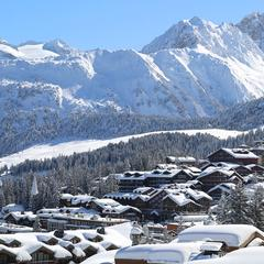 Snow report: Fresh snow & spring sunshine - ©Courchevel Tourism