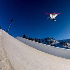 Going big at Mammoth - © Peter Morning