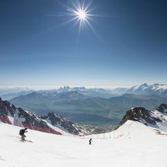 Pic Blanc (3300m) in Alpe d'Huez, France - © L.Salino / Alpe d'Huez Tourisme