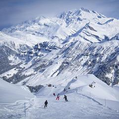 Ski hors-piste : Arêches Beaufort vs Sainte Foy Tarentaise - ©Baptiste Bernaert / OT Arêches Beaufort
