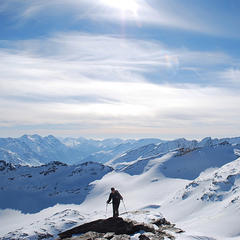 Skitour Fanellhorn (SUI, 3124 m) - © Marion Neumann
