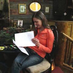 Study that script - © Heather B. Fried