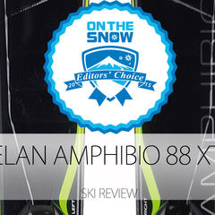2015 Men's Frontside Editors' Choice Ski: Elan Amphibio 88 XTI - ©Elan