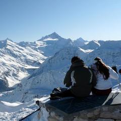 Panoramatická vyhlídka z Grimentz na okolní čtyřtisícovky  - © Val d'Anniviers Valais