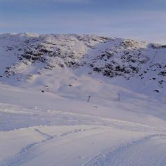 Zasnežené hory v Roldali (NOR) - © Røldal Skisenter