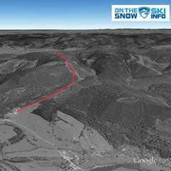 Ramzová: to tutaj namierzyliśmy najdłuższą trasę narciarską w Czechach - © OnTheSnow