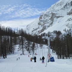 Val pelens pr sentation de val pelens la station le domaine skiable - Entraunes office tourisme ...