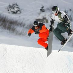 Top snowboarding resort: Snowbird