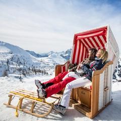 S lyžovačkou v Nassfelde je spojený aj relax a slnenie v srdci krásnej alpskej prírody - © Nassfeld.at