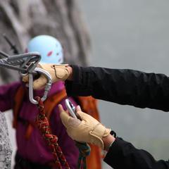 Impressionen aus dem Sulzfluh Klettersteig - ©bergleben.de