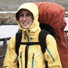 Die Spitz Q Jacke von Haglöfs - Bei Regen in Norwegen - ©Damian Trilling