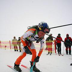 Andi Ringhofer beim Fellwechsel - © Herbert Raffalt