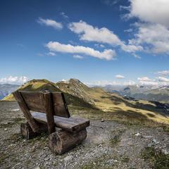 Aussicht vom Hörnli nach Arosa und ins Schanfigg - ©Graubünden Ferien | Andrea Badrutt