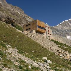 Tschierva Hütte im Val Roseg - ©Graubünden Ferien | Amt für Kultur Graubünden