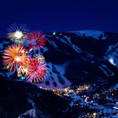 Fireworks over Beaver Creek - © Richard Spitzer