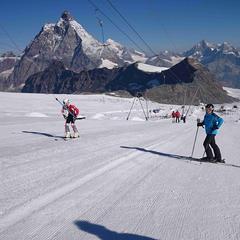 Na vlastní kůži: Přípravu jsme podcenili, ale letní lyžování na ledovci stálo za to! - ©Jaroslav Tuček
