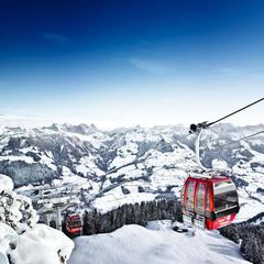 Nydelig utsikt i Kitzbüehl. - © Kitzbüheler Alpen Marketing