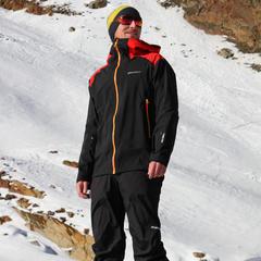 Test su pista: la nuova giacca freeride di Ziener TRAY MAN GTX - ©Skiinfo