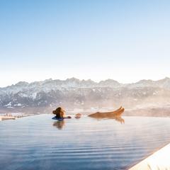 Venkovní vyhřívaný bazén v Pacheiner, Gerlitzen - © Franz Gerdl