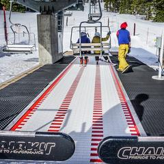 Bridger Bowl's new conveyor lift - © Eric Slayman