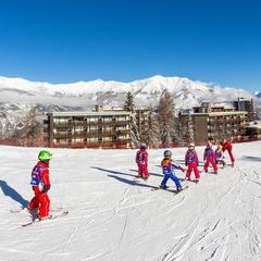 ski enfant Praloup - ©Bertrand Bodin