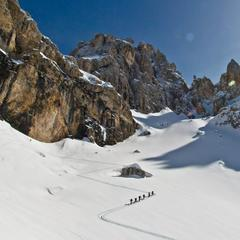 Salewa porta il Get Vertical Winter Camp a San Martino di Castrozza  - ©Salewa