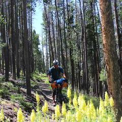 Montana biking - ©Iohan Gueorguiev