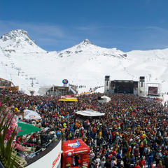 Koncert Top of the mountain v Ischgli - © Ischgl