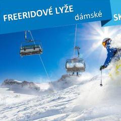 Dámské freeridové lyže - skitest 2016/2017 - © Lukas Gojda