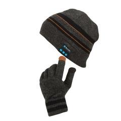 Bonnet connecté et gants tactiles