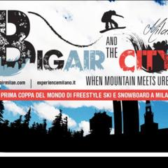 Big Air and the city a Milano: Freestyle e Snowboard in città! - ©Big Air and the City