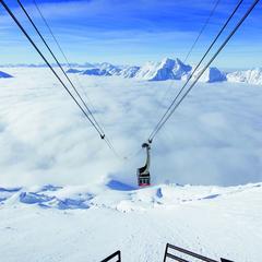 Lanovka na ledovci Val Senales - Schnalstal - © Schnalstaler Gletscherbahnen-Alex Filz