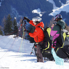 Paragleiten in Mayrhofen - © Gesa Temmen