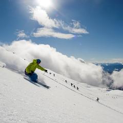 Schneebericht: Frischer Schnee auf den österreichischen Gletschern