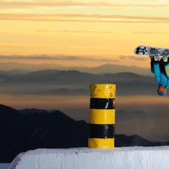 Snowboarder at El Colorado, Chile - © El Colorado Tourism