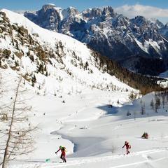 San Martino di Castrozza: Marzo all'insegna dello scialpinismo - ©Ph. Andrea Salini