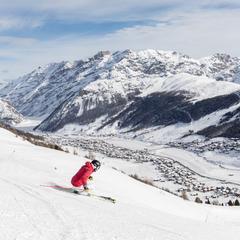 Sjezdovky a lyžování v Livignu - © Samuel Confortola