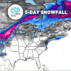 Big Storm & 1-2 Feet for Intermountain West: 3.14 Snow B4U Go - ©Meteorologist Chris Tomer