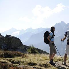 Una Montagna...di Scarpe da outdoor - ©Mayrhofner Bergbahnen