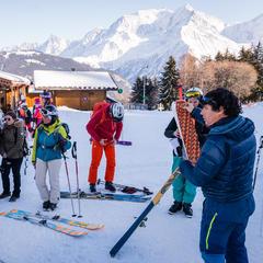 Découverte ski de randonnée à Saint Gervais - © STBMA