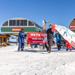 Hundreds of Skiers Celebrate Opening of Keystone, Arapahoe Basin - ©Keystone/Facebook