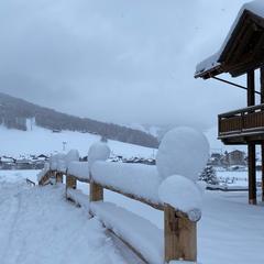 Čerstvý sneh v Livignu - © Livigno