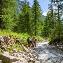 Ruisseling en rivière de montagne - © E. Vuylsteker